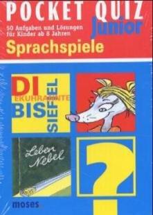 Pocket Quiz Junior Sprachspiele