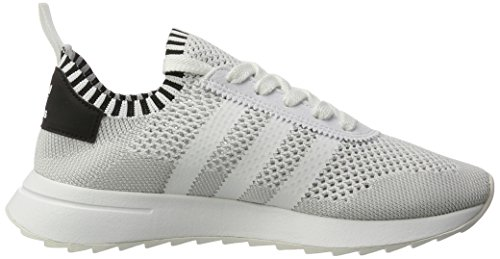 adidas Primeknit Flashback, Scarpe Running Donna, Nero, Taglia Unica Bianco (Ftwr White/core Black/clear Grey)