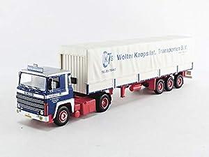 IXO TTR004 - Coche en Miniatura, Color Azul y Blanco