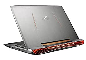"Asus ROG G752VY-GC481T Notebook, Display 17.3"" Full HD, Processore Intel Core i7-6700HQ, RAM 32 GB, HDD 1 TB + 512 GB SSD, Scheda Grafica NVIDIA GeForce GTX 980M, Argento"