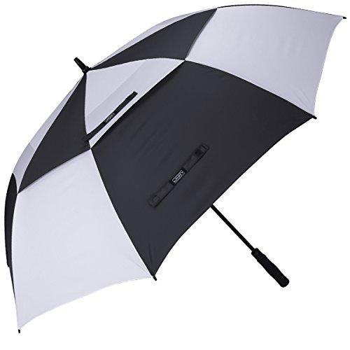G4Free Golf Regenschirm 172,7 cm Winddicht Double Canopy Bel¨¹ftet Extra Gro?er Automatischen ?ffnen Wasserdicht Stick Regenschirme (Golf-stick)