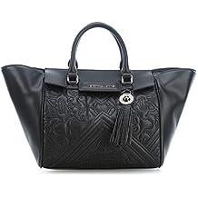 Versace Jeans Ee1vsbbz1, Sacs portés épaule femme, Noir (Nero), 15x24x44 cm b2c9b9adfc5