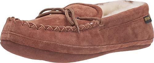 Old Friend Herren Men's Soft Sole Loafer Slipper, Kastanie Ii, 45 EU -