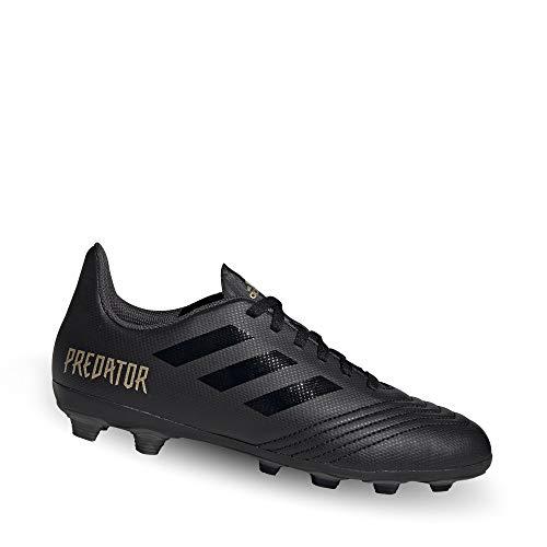 adidas Unisex-Kinder Predator 19.4 Fxg J Fußballschuhe, Mehrfarbig Core Black/Gold Met. 000, 38 2/3 EU (Kinder Gold Fußballschuh)