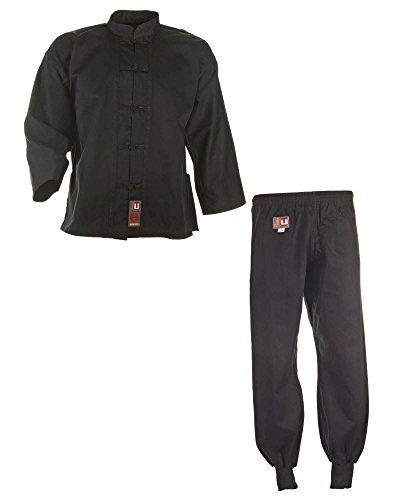 Kung Fu Anzug schwarz, Cotton
