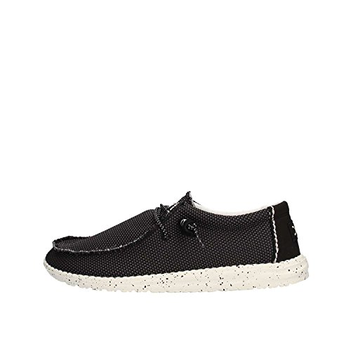 Dude Shoes Men's Wally Sox Mesh Onyx Black