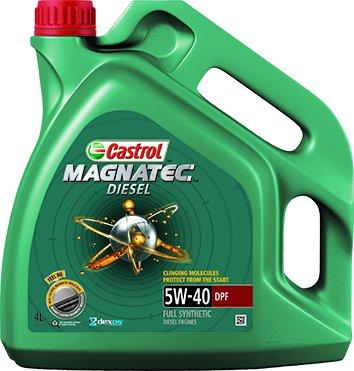 Castrol 151B71 Olio Castrol Magnatec Diesel  5w-40 DPF 4l Lubrificante auto