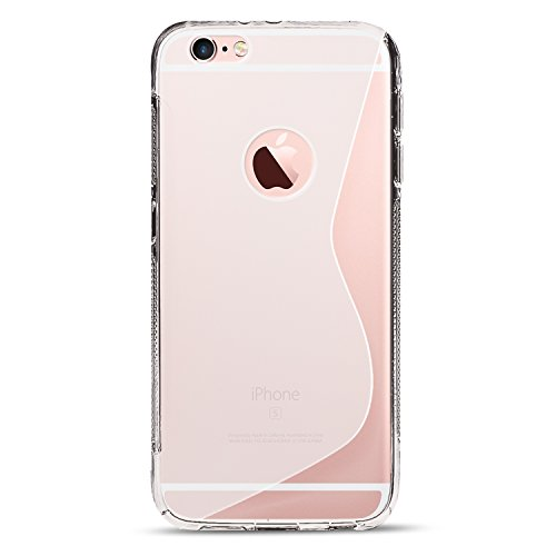 iPhone 7 Hülle iPhone 7 Case Transparent Cover Schutzhülle Handyhülle Silikonhülle Rückschale Ultra Slim Transparent