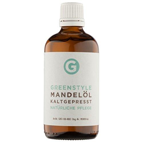 Mandelöl kaltgepresst (100ml) - reines Öl von greenstyle
