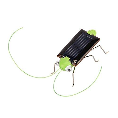 Mengonee Niños Bebé Energía Solar Energía Insecto Insecto Saltamontes Niños Juguete Regalo Solar Novedad Juguetes Divertidos