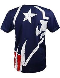 fe2a850bb4acd A NEW ERA Era - England Patriots T-Shirt tee - Big Logo Back