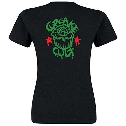 Cupcake Cult T-Shirt Quest T Schwarz L
