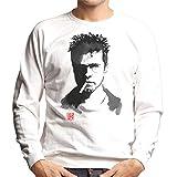 Cloud City 7 Brad Pitt Cigarette Men's Sweatshirt