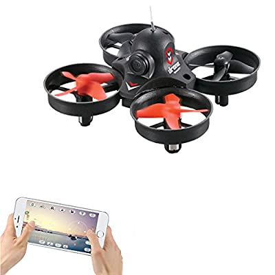 LiDi RC L10 Mini WIFI Real-time transmission Drone with 0.3MP HD Camera 3D Roll RC Quadcopter by LiDi RC