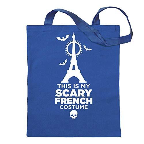My Scary French Costume T-Shirt Motiv Bedruckt Funshirt Design ()