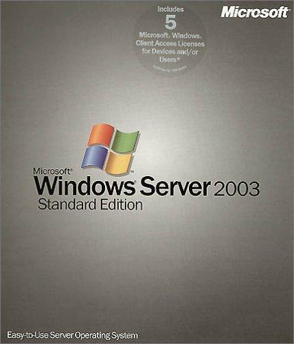 MS Windows Svr 2003 + 5 Cl. CD W32