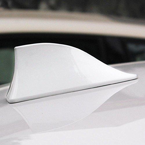 Folconroad Universale Auto Auto Pinna di squalo/ /Base Antenna Radio Segnale Bianco