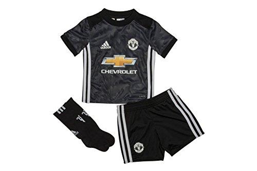 manchester-united-17-18-petits-enfants-kit-de-foot-replique-exterieur-noir-blanc-granit-taille-2-3yr