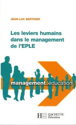 Les leviers humains dans le management de l'EP...