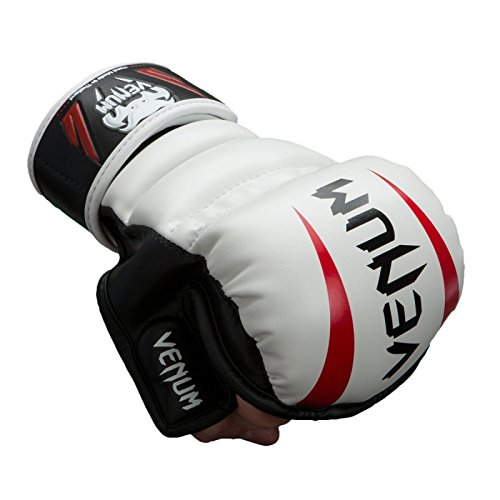 VENUM ELITE MMA GLOVES White L/XL