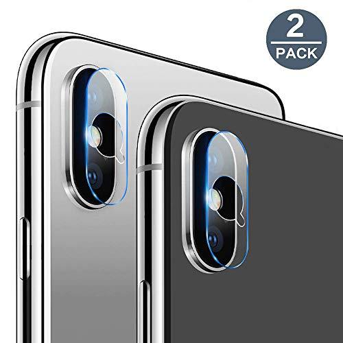 EasyULT Kamera Panzerglas Schutzfolie Kompatibel mit iPhone XS/iPhone XS Max,Kamera objektiv Gehärtetes Glas Displayschutzfolie[2 Stück]
