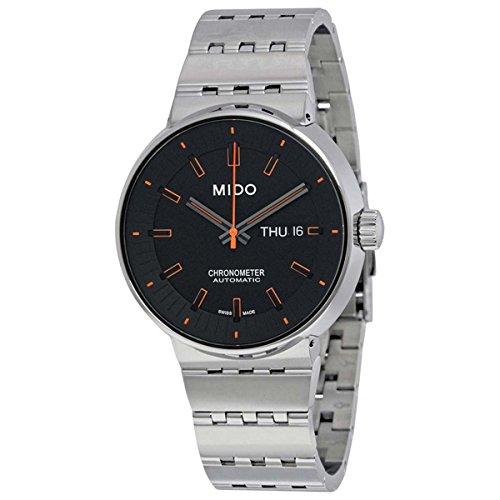 Mido Herren Analog Automatik Uhr mit Edelstahl Armband M834041819