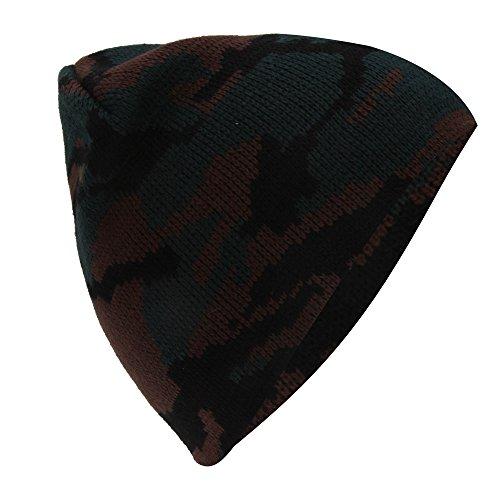 Bonnet à motif camouflage - Garçon Vert