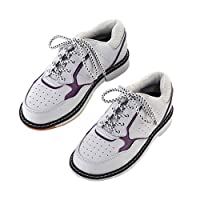 Bowling Shoes, Casual Breathable Walking Shoe Non-Slip Lightweight Bowling Trainers Running Gym Sport Sneakers,40