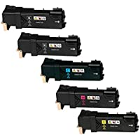 Kit 5 Toner Compatibili per Xerox Phaser 6500DN, 6500N, WorkCentre