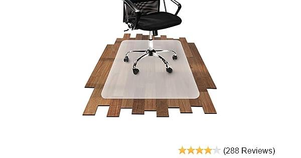 Parkett Zu Rutschig : Bürostuhlunterlage für hartböden parkett laminat fliesen etc