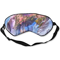 Sleep Eye Mask Digital Art Mountain Lightweight Soft Blindfold Adjustable Head Strap Eyeshade Travel Eyepatch preisvergleich bei billige-tabletten.eu