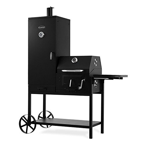 Klarstein Fleischbrocken Charcoal Grill Smoker Smoking