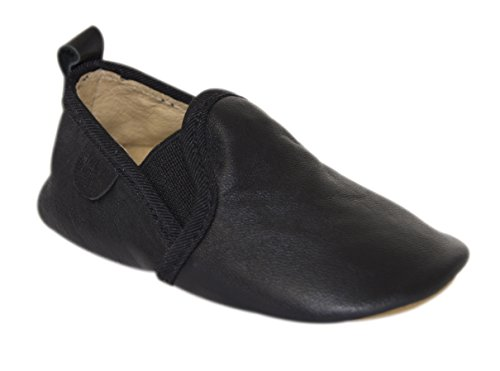 Move by Melton Prewalker Slip On Slipper Unisex, Chaussons mixte enfant Noir - Schwarz (Black190)