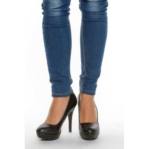 Princesse boutique - Escarpins NOIR à plateforme Noir