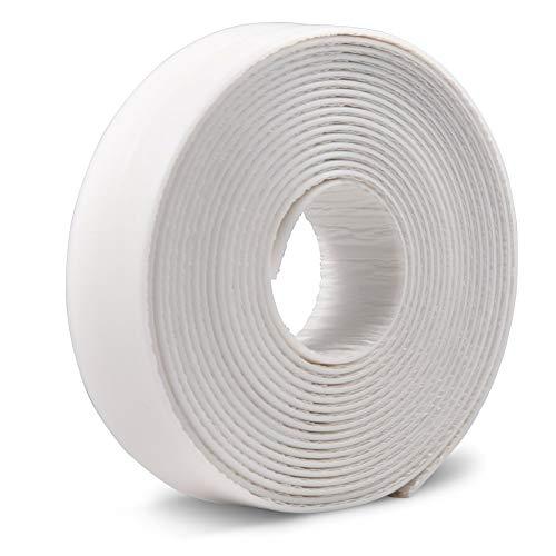 Striscia caulk in pe nastro adesivo autoadesivo a tenuta stagna sigillante sigillanti nastro flessibile per lavello cucina, bagno, vasca, bordi