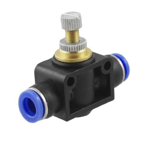 Pneumatik Geschwindigkeitssteuerung, 8mm zu 8mm, zum Einstecken, rasche Montage (Pneumatik-metall)