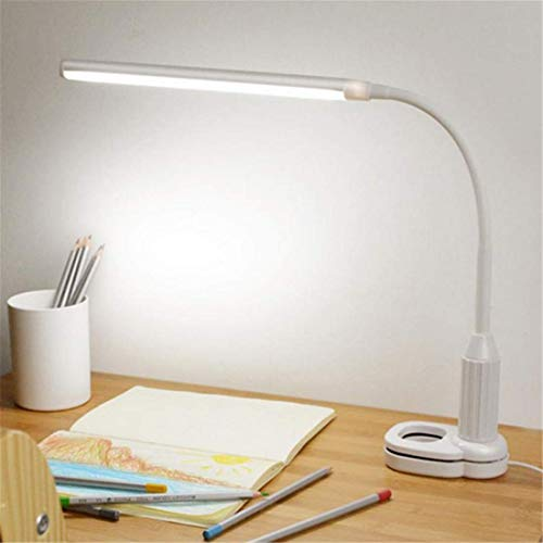 5W 24 LEDs Eye Protect Clamp Clip Light Table Lamp Stepless Dimmable Bendable USB Powered Touch Sensor Control reading desk lamp -