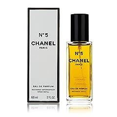 Idea Regalo - Chanel, No.5 - Eau De Parfum, Donna, Ricarica Vaporizzatore, 60 ml
