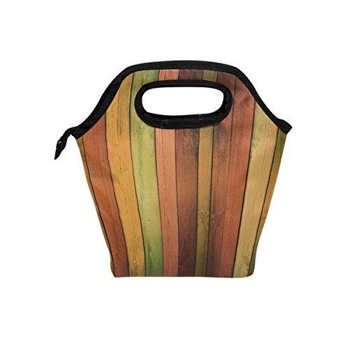 COOSUN - Bolsa de almuerzo de madera con aislamiento térmico, bolsa de...