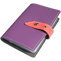 Kilofly Business Card Holder nome carta di credito, in pelle viola