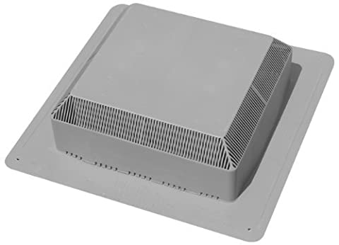 Duraflo 60PRO50G Pro 50 Roof Vent, Grey by Duraflo