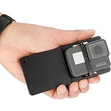 ulanzi GoPro adaptador interruptor de aleación de aluminio soporte de pared sólida Handheld Gimbal adaptador mounnt para GoPro Hero 6/5/4/3+, Yi, SJCAM y DJI OSMO Zhiyun Smooth Q