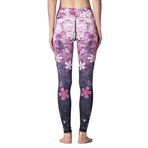 c5d1297e43e Women s Leggings - TUMMY CONTROL - Plus Size High Waist Mesh Yoga ...