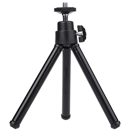 mStick Black Mini Tripod Aluminum Metal Lightweight Tripod Stand For Point & Shoot Camera , Smartphones Etc.  available at amazon for Rs.299