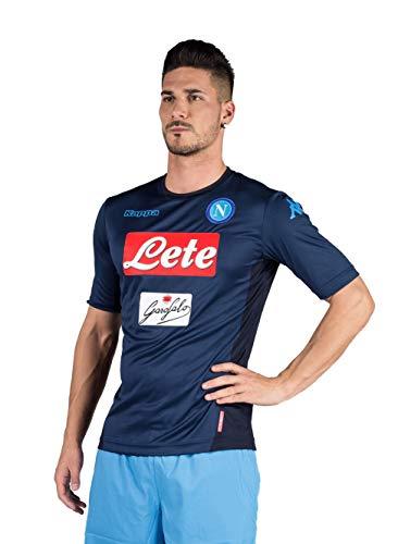 2017/18 SSC Napoli Stadium Third jersey Blue indigo 17/18 Naples Kappa L Blue indigo