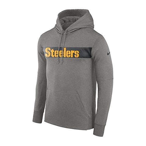 Nike NFL Pittsburgh Steelers Therma PO Hood Large (Nike Schuhe Nfl)