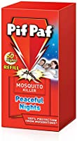 Pif Paf PowerGard Liquid Mosquito Killer 60 Nights Electrical Plug-In Refill, 45ml