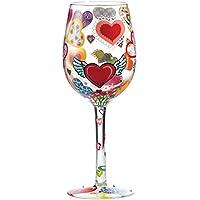 Lolita - Copa de vino Hearts-rageous