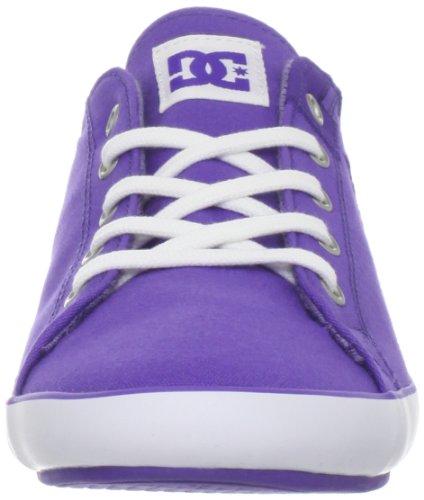 DC da donna Cleo Scarpe da skate, viola (Varsity Purple), 35.5 Varsity Purple