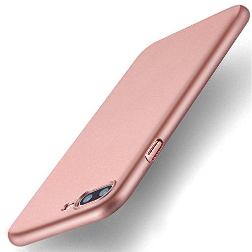 iPhone 7 Plus Coque de Protection, Wouier® Ultra Slim Léger Durable Case Anti-Rayures Premium Fini Mat Très Mince Entouré Coque pour iPhone 7 Plus Rose Gold